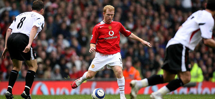 Ferguson initially thought Scholes was too small
