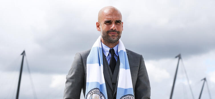 Pep Guardiola: Gave debuts to 22 academy players at Barcelona