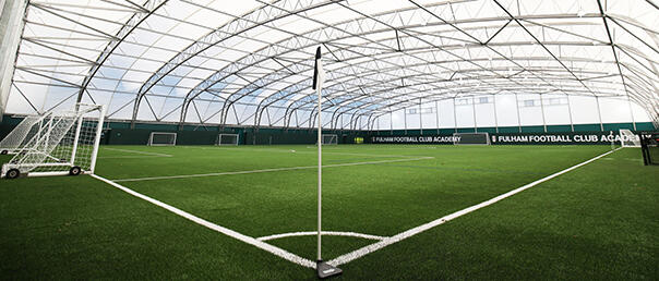 Fulham recently built an indoor facility at their Motspur Park training ground