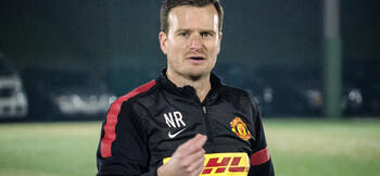 Ryan replaces McKenna as Man Utd U18 boss