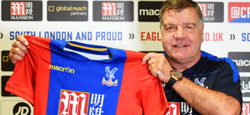 Allardyce monitors Palace homework with Pushfor