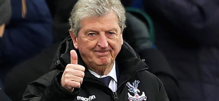 Palace had no goals and no points when Hodgson took over