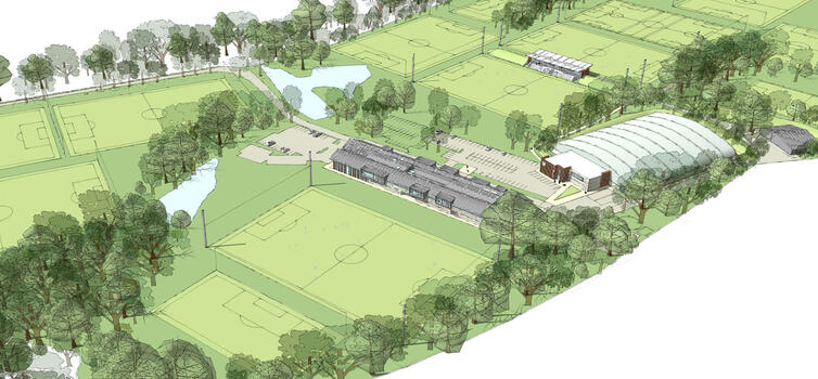 The new complex was going to bring first team and Academy together