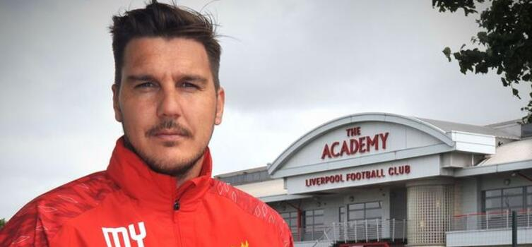 Mike Yates is embarking on his 20th straight season as a coach at Liverpool's Academy