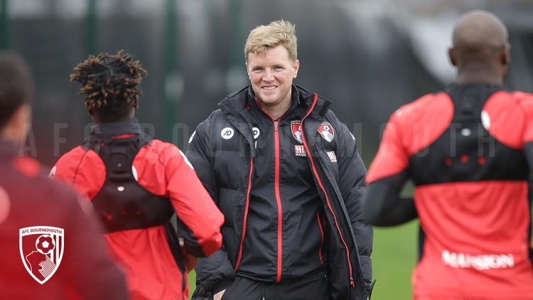 Eddie Howe: Is able to monitor training performance using GPS