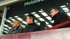 Charles and Keane watching a match together