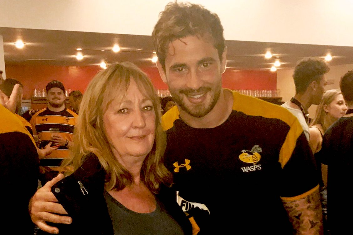 Cipriani with his mum, Anne