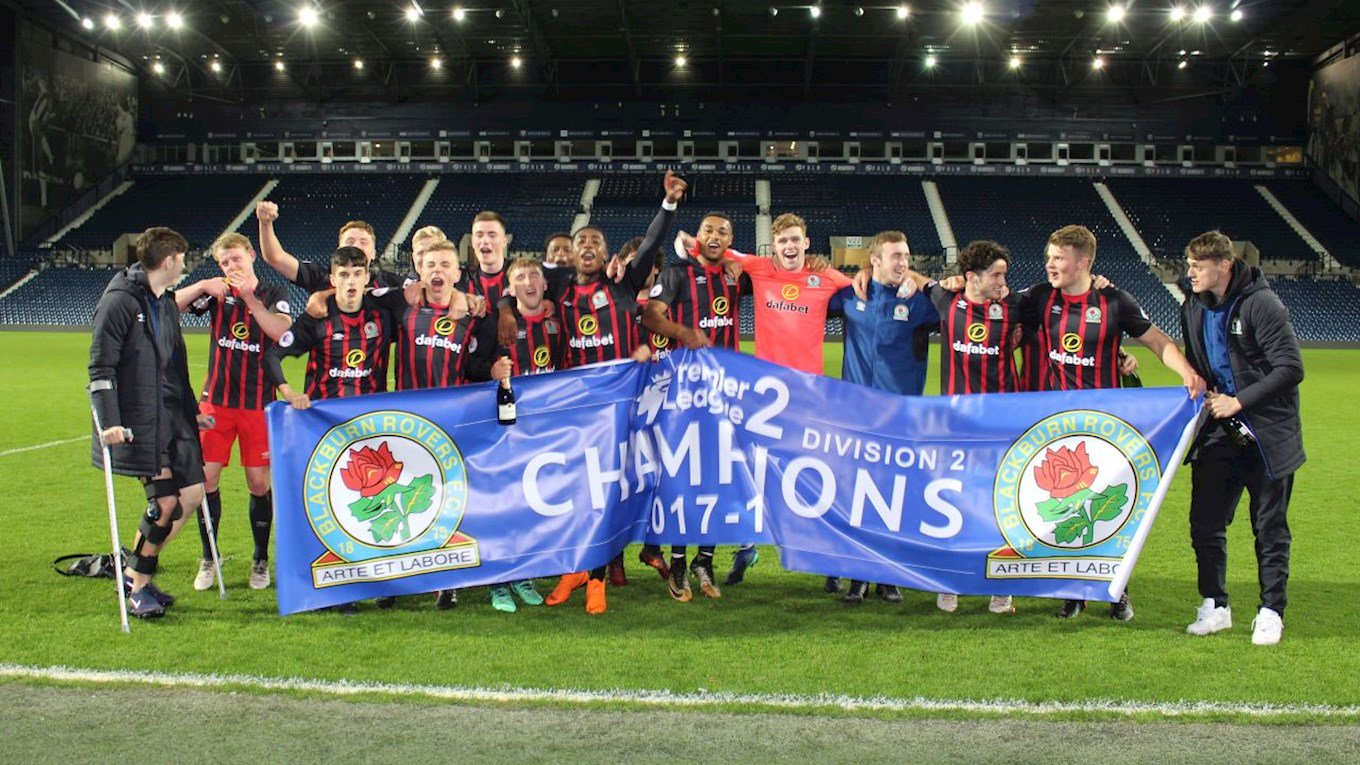 Blackburn's U23s won Premier League 2 Division 2 last season