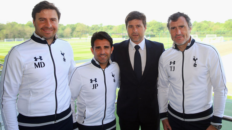 Pochettino's 'inner circle': D'Agostino, Perez and Jimenez