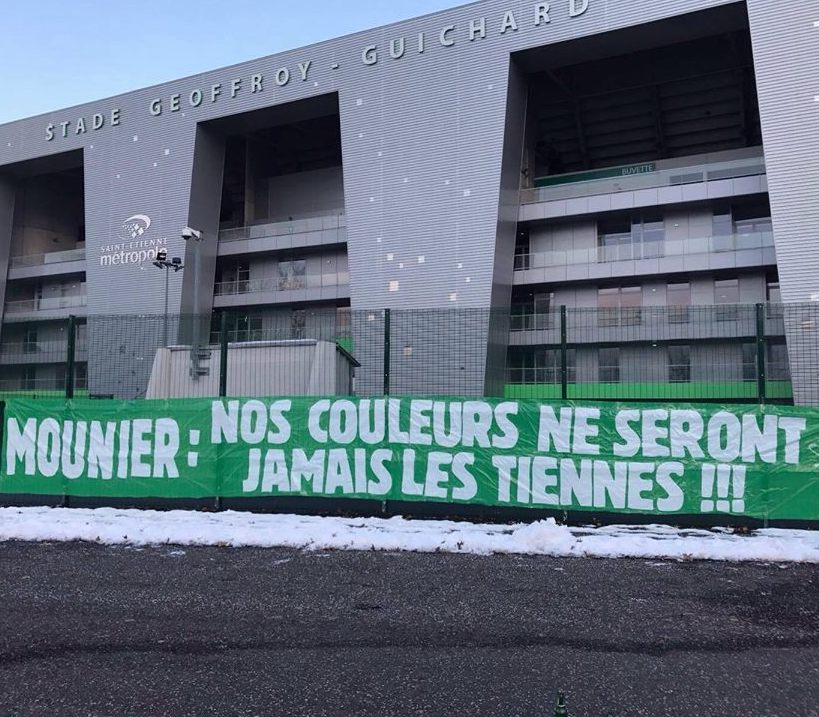 Mounier: Our colours will never be yours